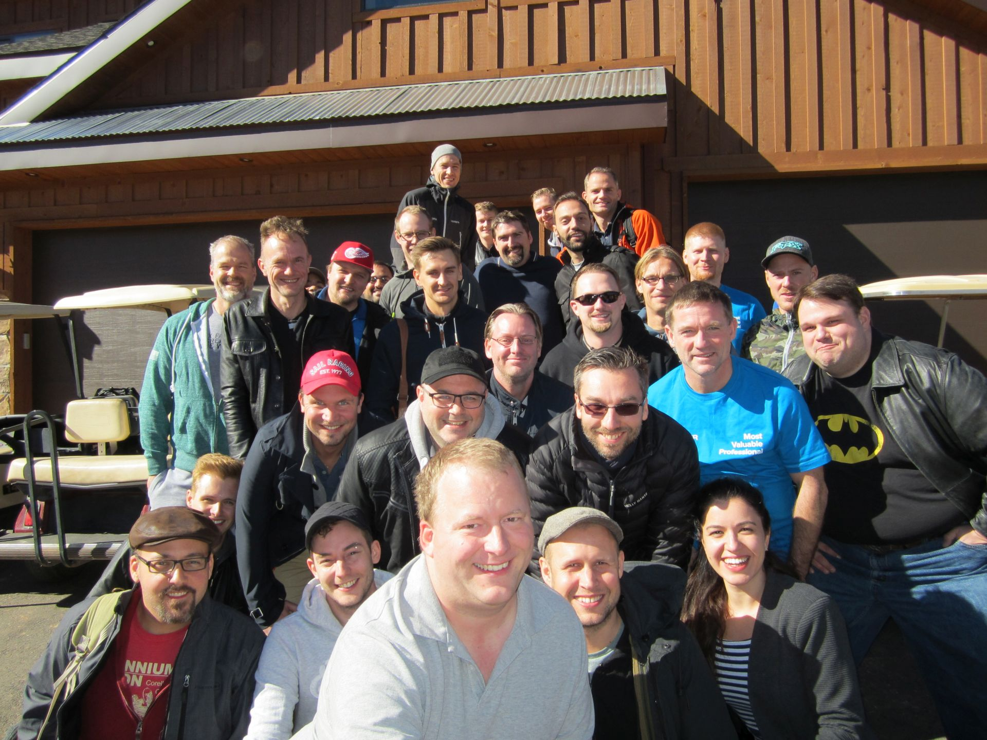 Picture of all attendees at the Episerver EMVP Summit 2015 in Utah
