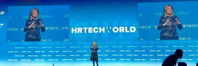 Arianna Huffington at HR Tech World