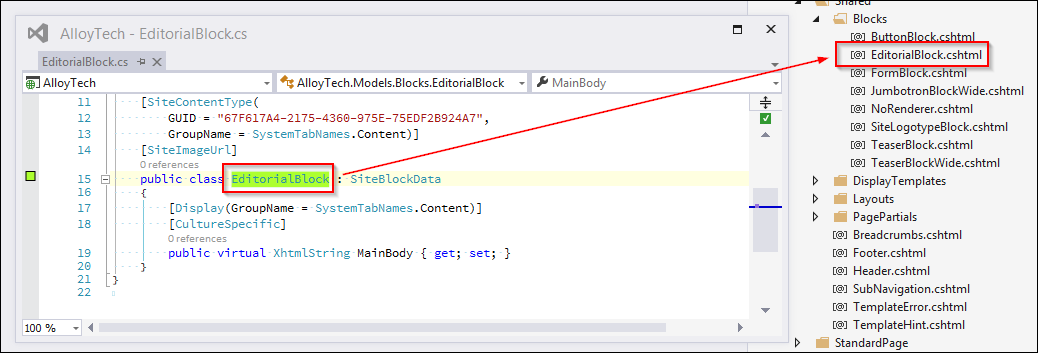 Full support for Asp Net Mvc areas in EPiServer 7 5